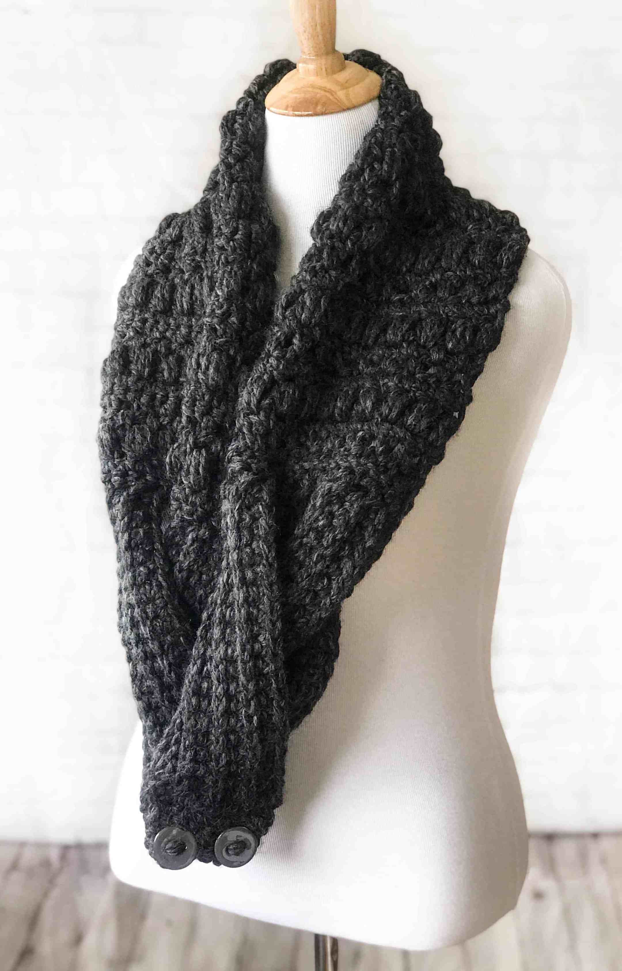 Dusty Sprinkles Scarf – Free Crochet Pattern – Stardust Gold Crochet ...
