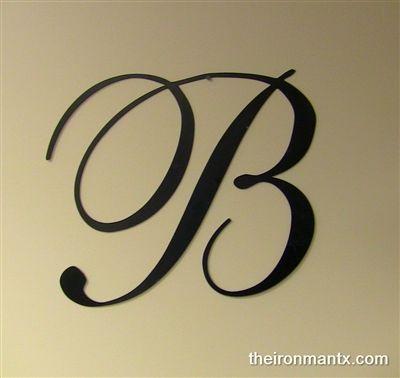 Initial Letter Script Letter B Tattoo Tattoo Lettering Hand Lettering Inspiration