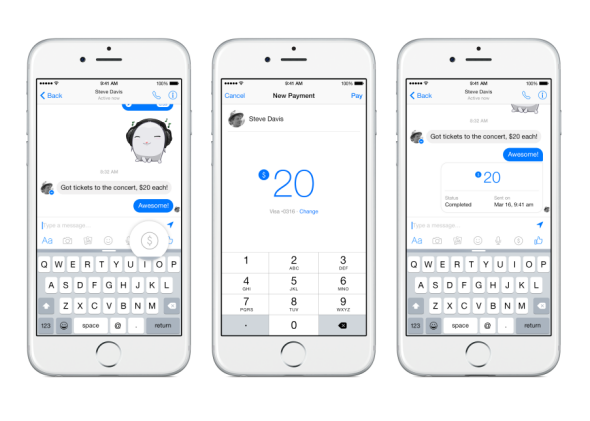 Facebook Messenger Is Rolling Out Mobile Payments. Venmo