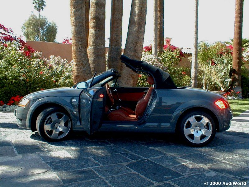 2001 audi tt roadster 180 fwd nimbus grey w baseball. Black Bedroom Furniture Sets. Home Design Ideas