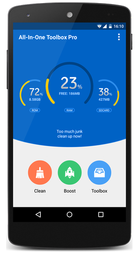 ApkLio - Apk for Android: All-In-One Toolbox (Cleaner) Pro