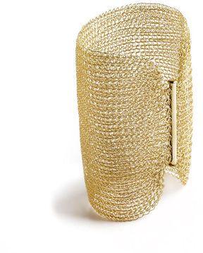 b427f40353a shopstyle.com: YooLa CleoCuff Extra Wide crochted cuff   Cuff me ...