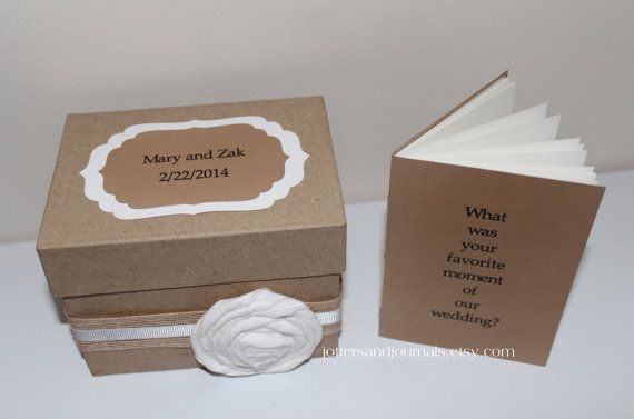 Wedding Guest Books Jotters Or Mike S Idea Index Card Suggestion Box