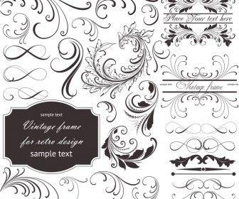 Floral frame embellishment vector flourishiz flowerz foofoo floral frame embellishment vector logos cardsvintage invitationsfree stopboris Image collections