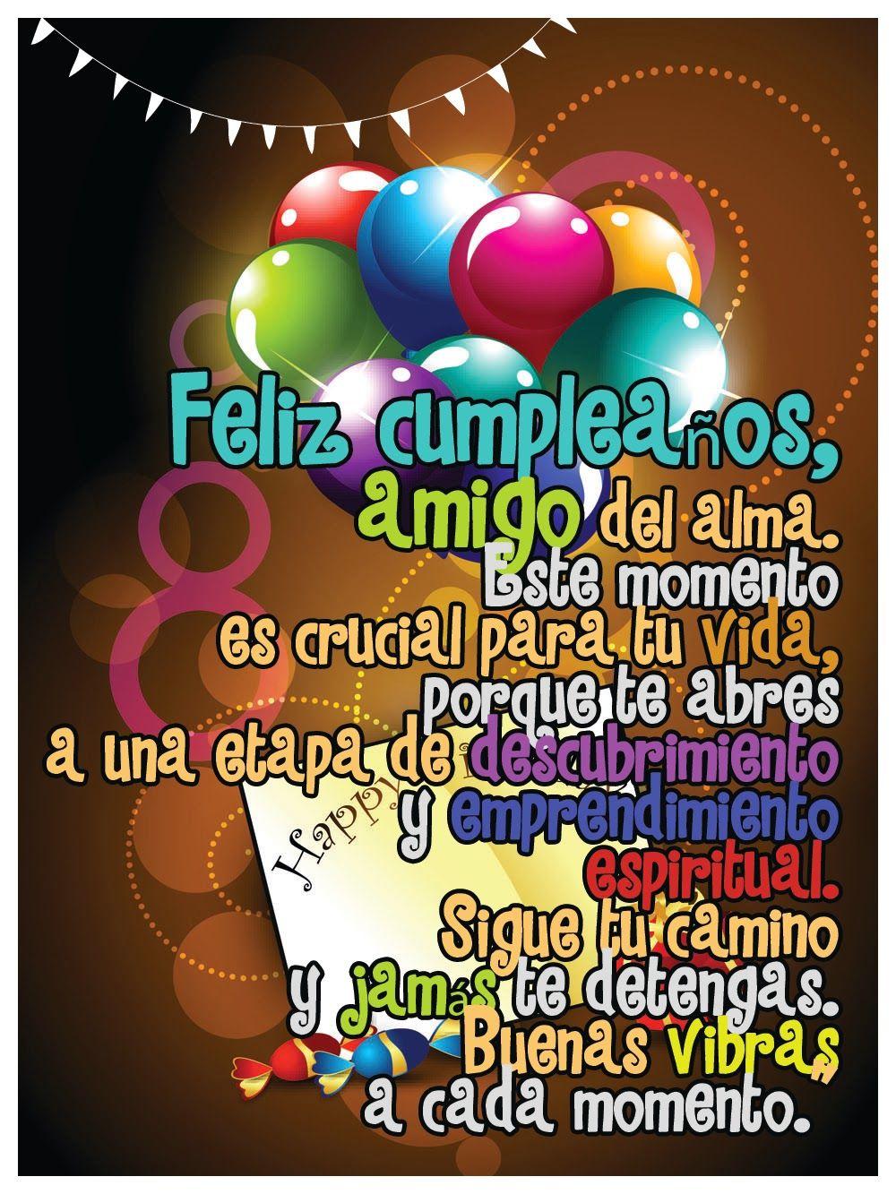 Imágenes De Feliz Cumpleaños Amigo Con Frases Y Mensajes