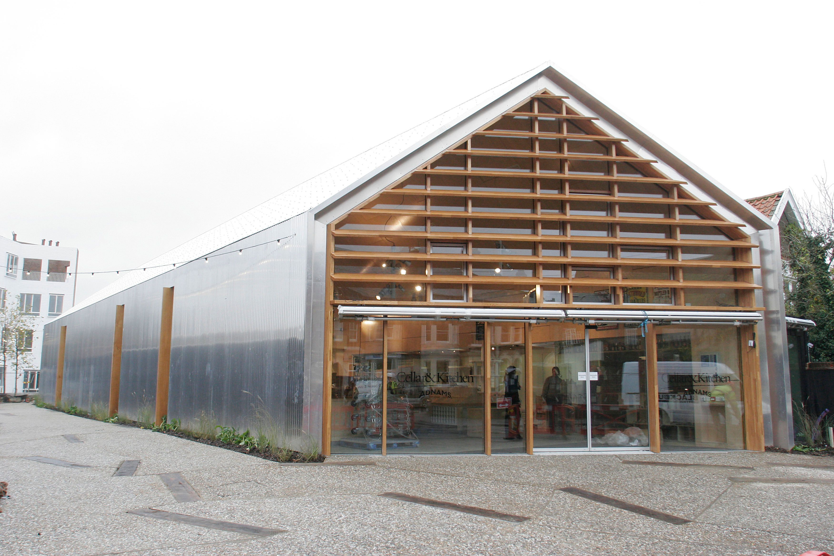 Adnams Flagship Cellar Kitchen Store Warehouses Architecture Industrial Architecture Factory Architecture