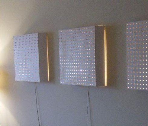 mille et une fa ons d 39 utiliser les panneaux trou s id e diy. Black Bedroom Furniture Sets. Home Design Ideas