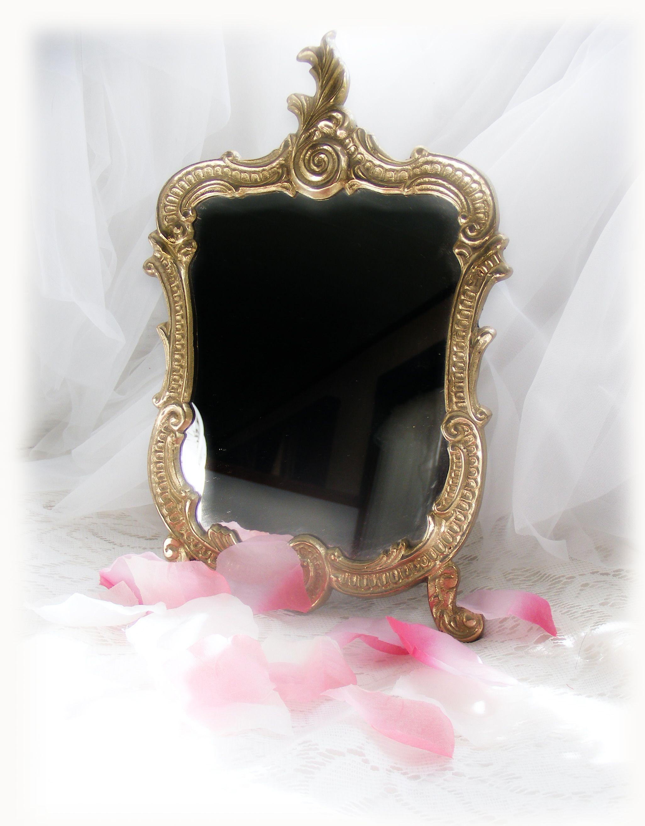 Romance Romantic roses, Mirror wall, Antique mirror