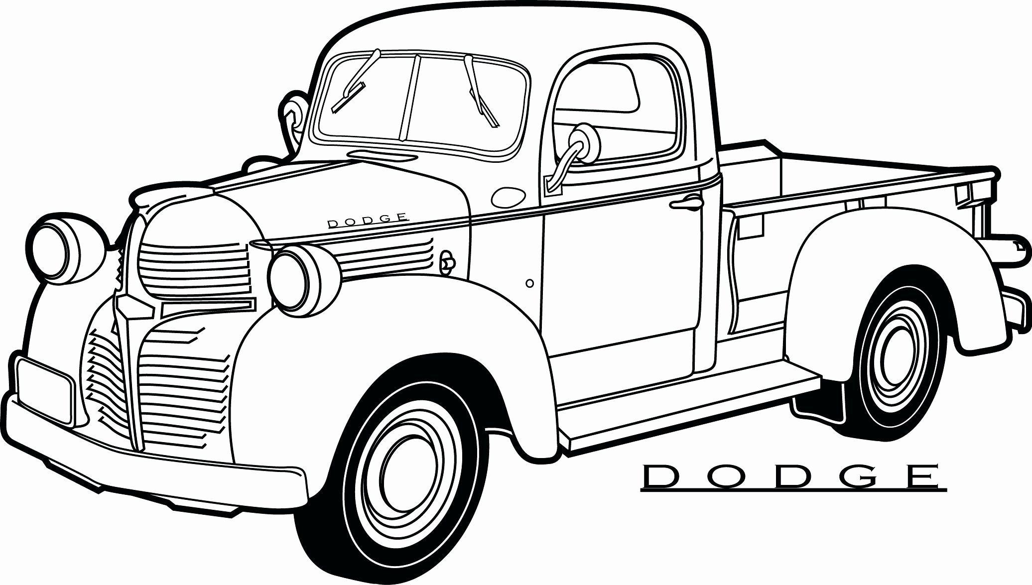 Ford Trucks Coloring Pages Elegant Truck Coloring Pages Truck Coloring Pages Cars Coloring Pages Pickup Trucks