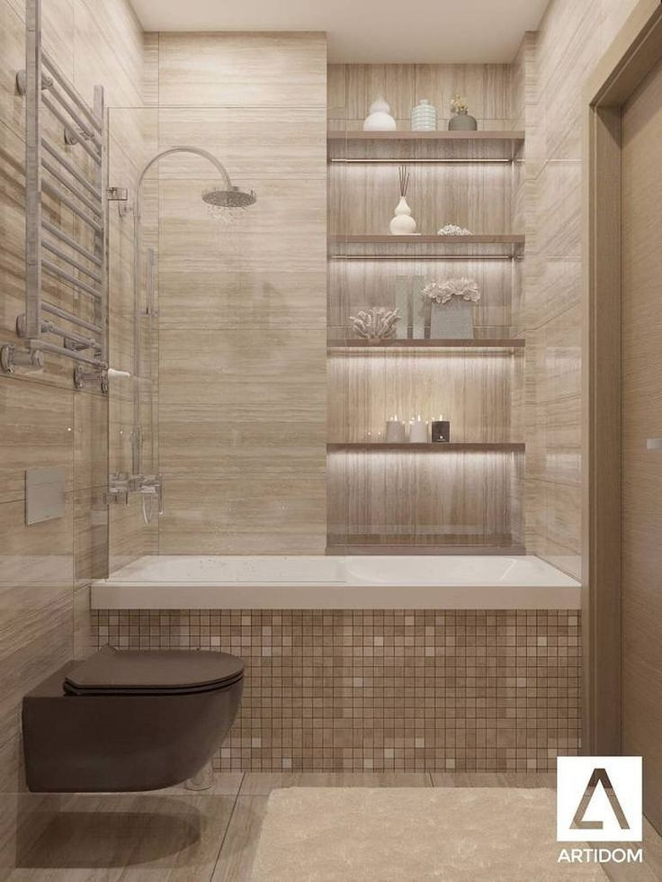 Photo of Tiny Bathroom Tub Shower Combo Remodeling Ideas 46 – #Bathroom #Combo #Ideas #Re…