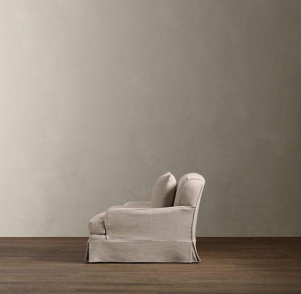 Belgian Classic Roll Arm Slipcovered Sofas | Sofas | Restoration Hardware