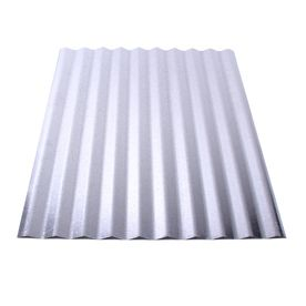 Fabral 96 In 30 Gauge Plain Corrugated Steel Roof Panel