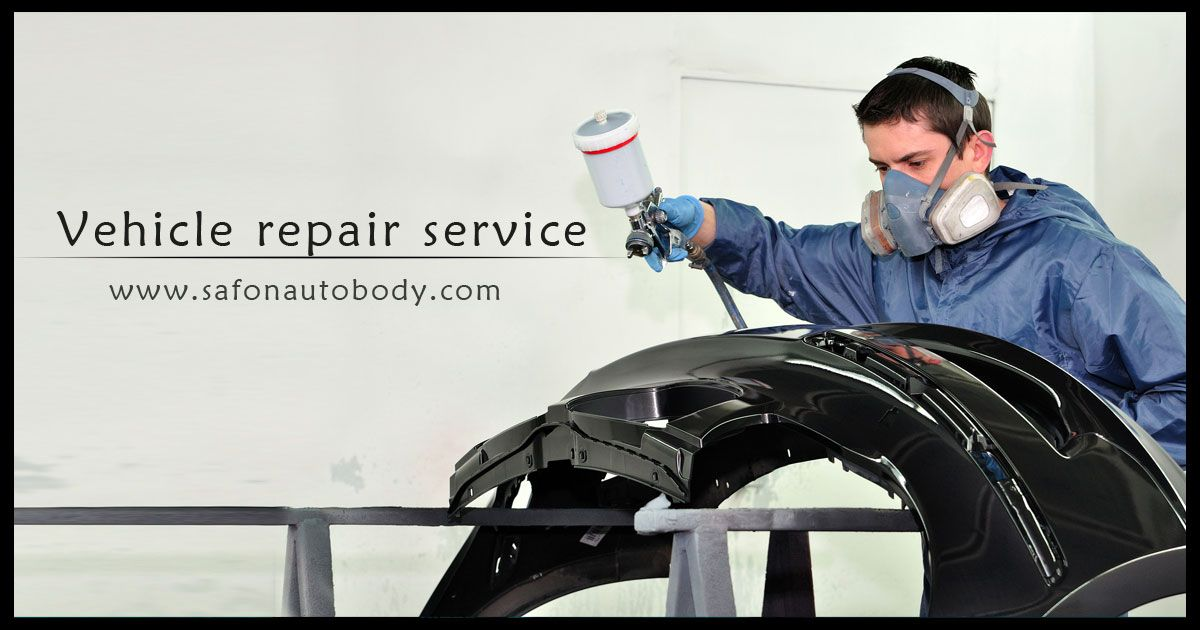 Meet The Professionals At Safon Autobody Who Can Help You With