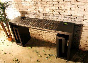 Zen Office Furniture Asian Home Inspired Desk