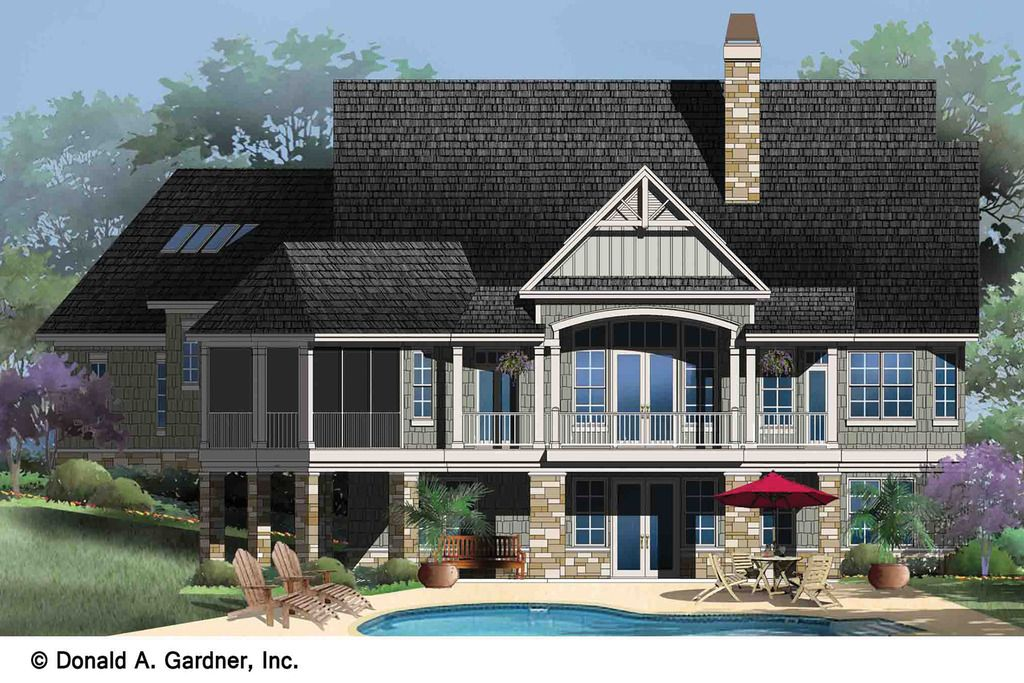 Plan 929 2 Houseplanscom Craftsman Style House