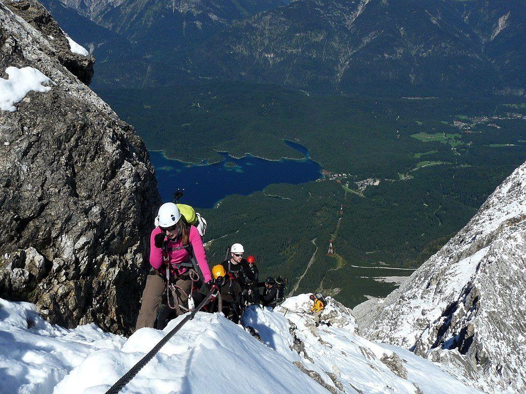Klettersteig Tegernsee : Klettersteig touren mit bergführer in den alpen