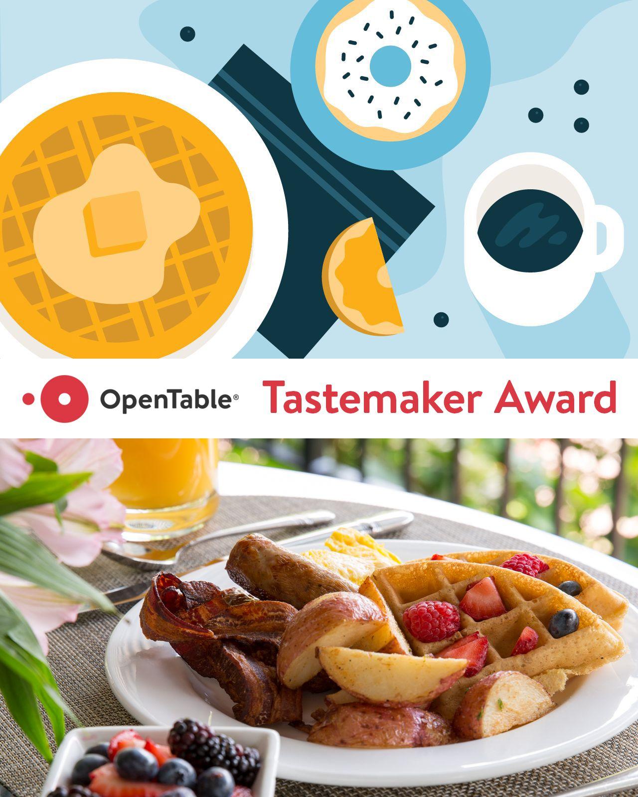 OpenTable Tastemaker Award 2019