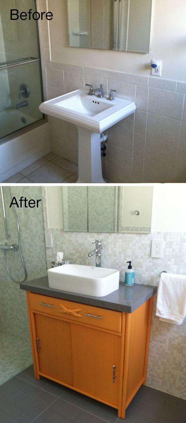 A Few Simple Ideas Can Transform A Tired Bathroom Into An