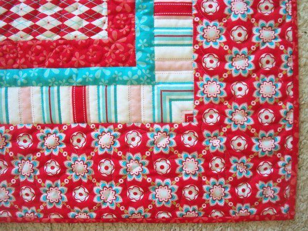 This site has great tutorials! Riley Blake Designs -- Cutting ... : multiple quilt borders - Adamdwight.com