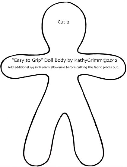 Simple Doll Patterns easytogripKathyGrimm©2012   Doll Patterns ...