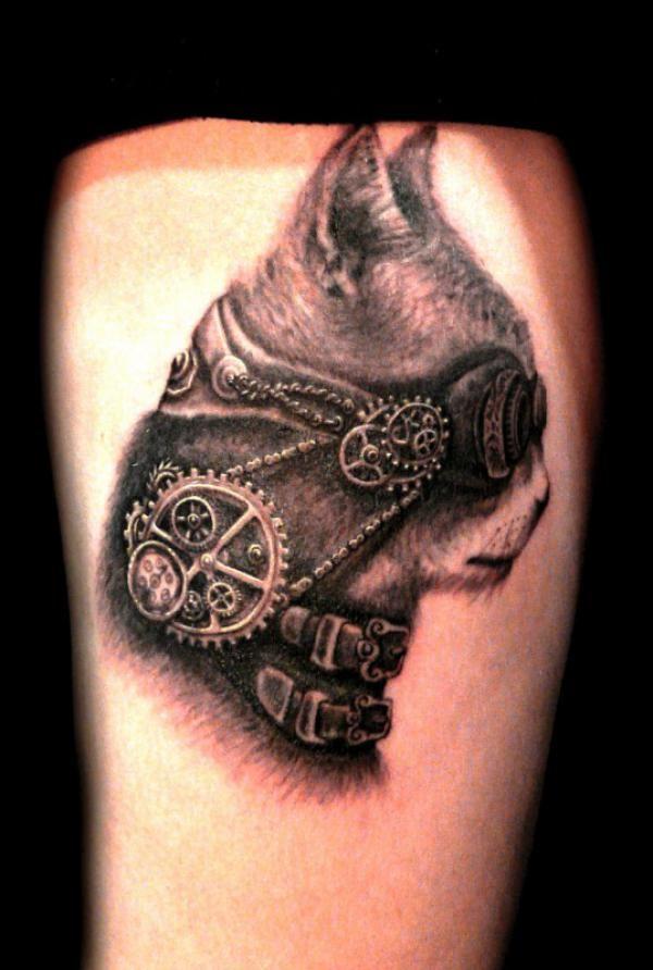 30 Awesome Steampunk Tattoo Designs Cuded Steampunk Tattoo Tattoo Designs Tattoo Styles