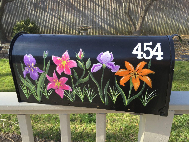 hand painted mailbox custom ordered
