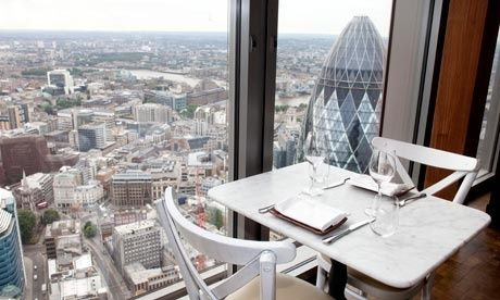 Duck And Waffle London View Tours Travel East Heron