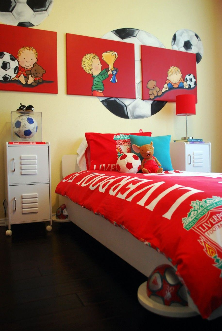 Boys soccer bedroom ideas - Boys Soccer Bedroom