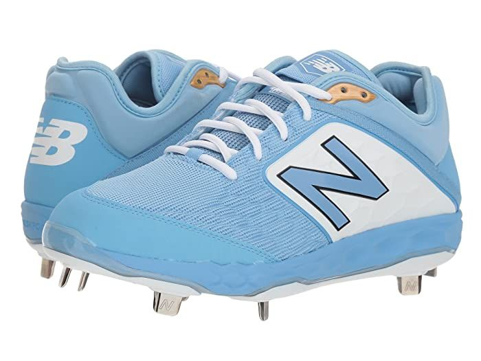 New Balance L3000v4 Baseball Baby Blue White Men S Shoes Steal A Few Bases With The Agile Performance Of The New Bala In 2020 New Balance Leather New Balance Sneaker