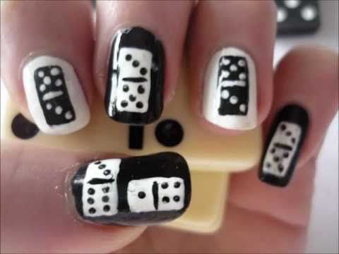 A Cute And Unique Domino Nail Art Design Subscribe To Me On You Juliatmll
