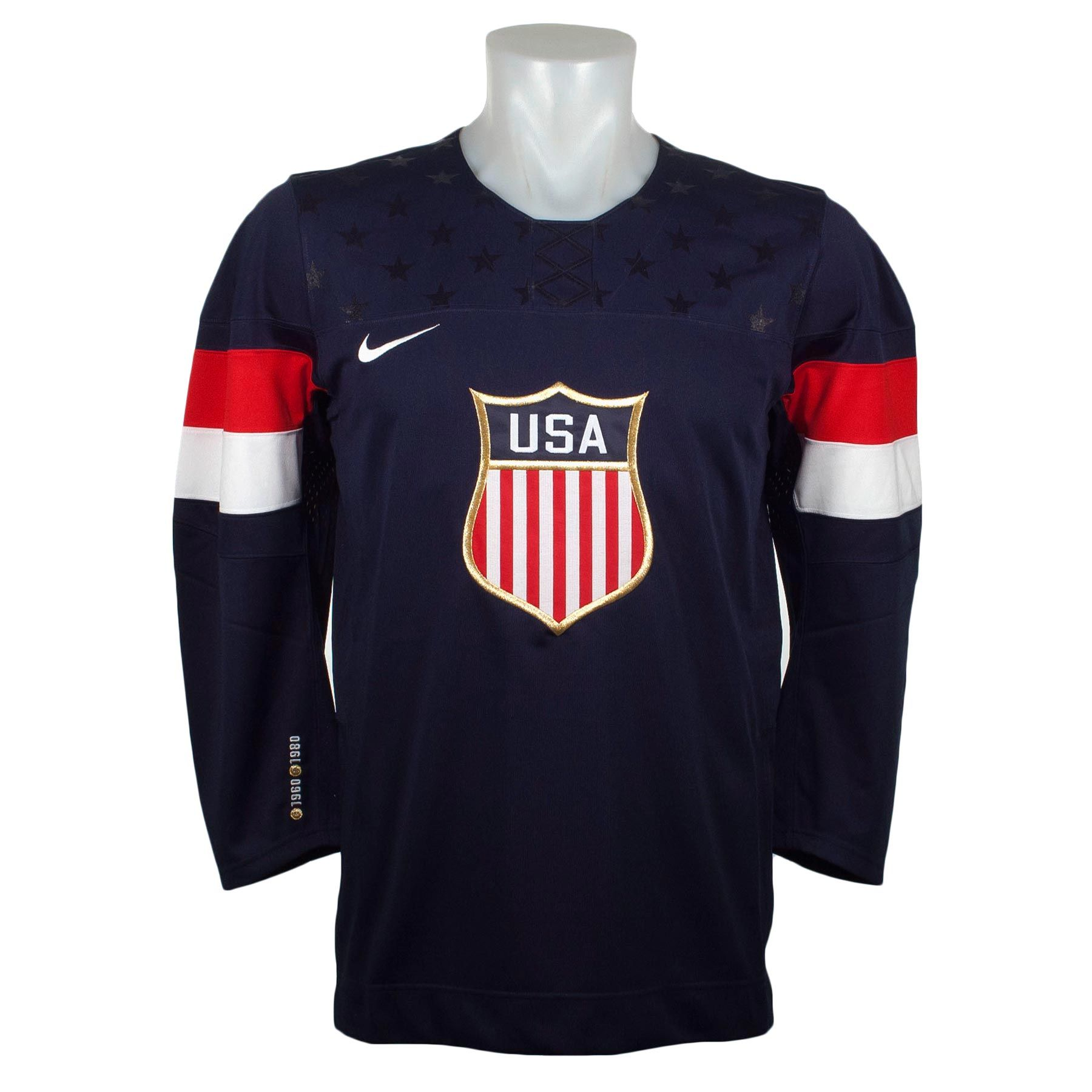Team Usa Official Olympic Replica Navy Hockey Jersey