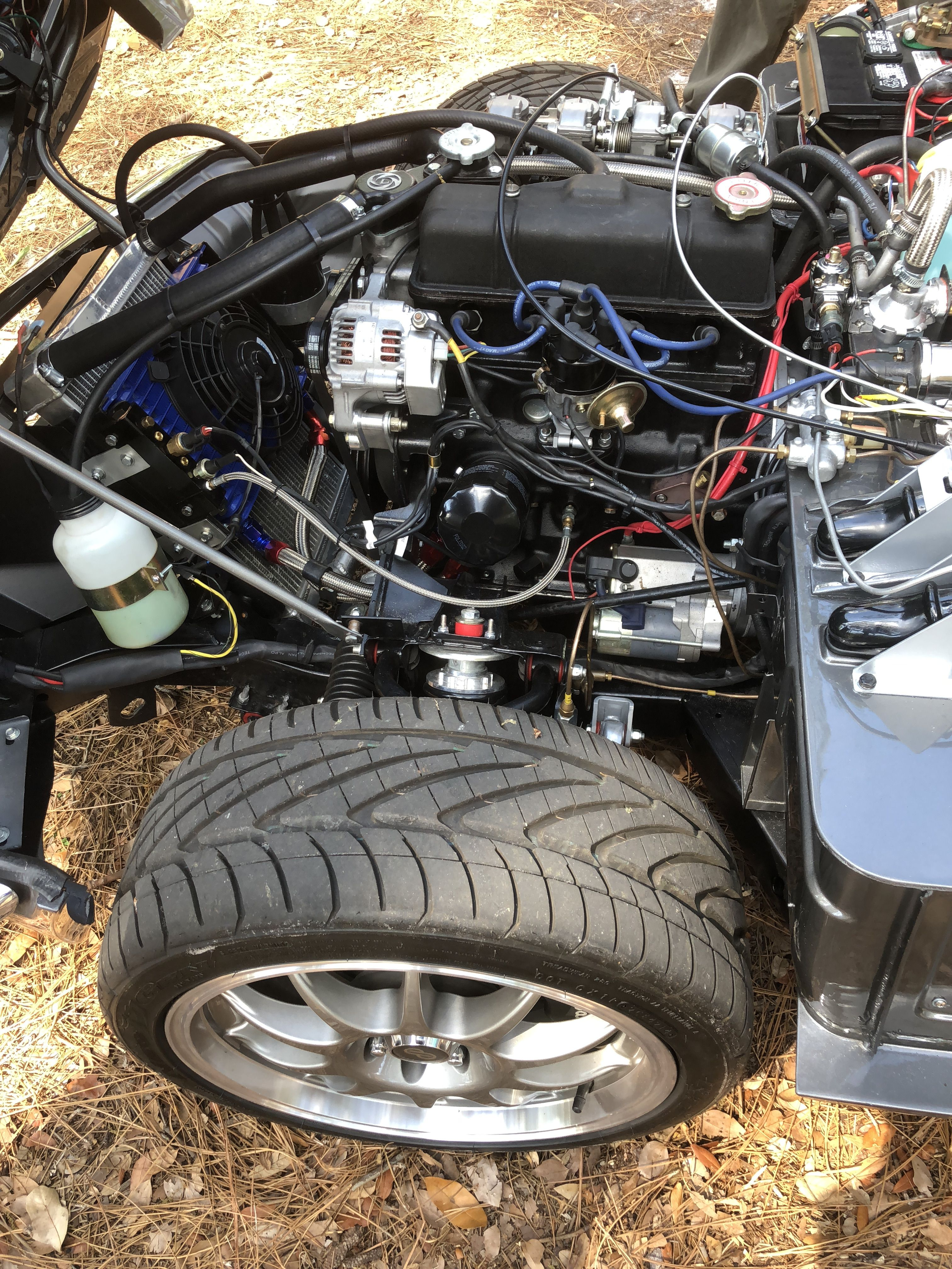 Spitfire Engine Bay All British Car Show Orlando FL TRIUMPHS - Car show orlando fl