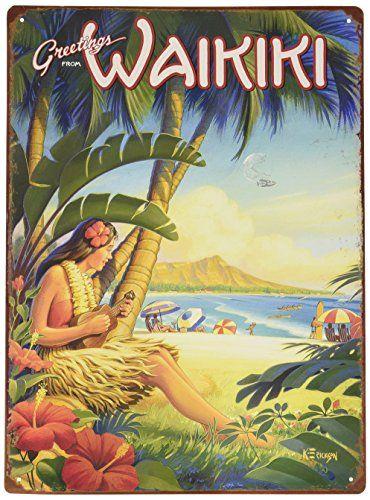 12in x 16in Vintage Hawaiian Tin Sign - Greetings from Wa... https://www.amazon.com/dp/B01BID6JQG/ref=cm_sw_r_pi_dp_x_bEAVyb3JB5KXV