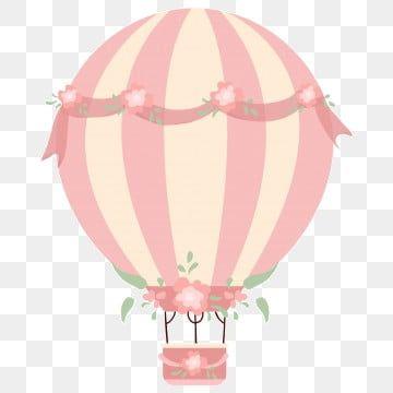 بالونات وردية صغيرة بالونات قصاصات فنية صغيرة طازجة زهري Png وملف Psd للتحميل مجانا Balao De Ar Quente Balao De Ar Balao Desenho