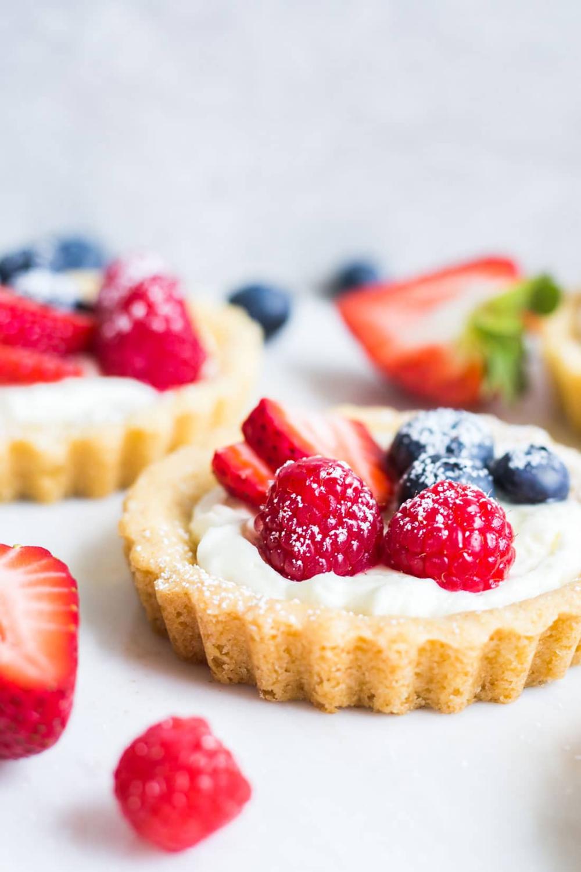 Miss Jones Baking Co Easy Mini Summer Fruit Tarts Fruit Tart Recipe Mini Fruit Tarts Tart Recipes