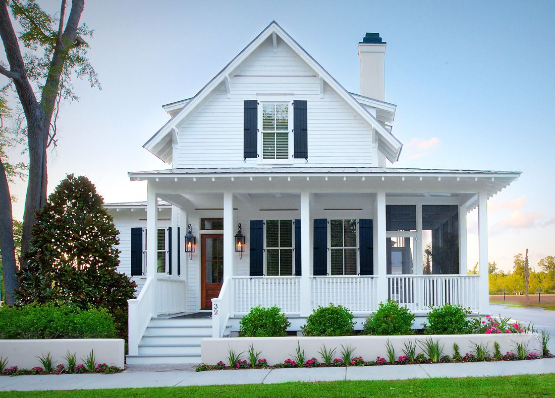 Portfolio Of Custom Homes Beaufort Sc Farmhouse Style House Plans Traditional Home Exteriors Cottage Exterior