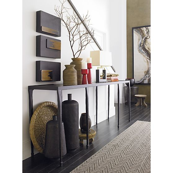 Architectural Digest   July 2014. Silviano Console Table   Crate And Barrel