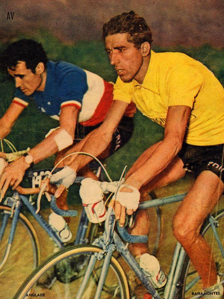 ANGLADE Y BAHAMONTES - TOUR 1959  2e9b700ba