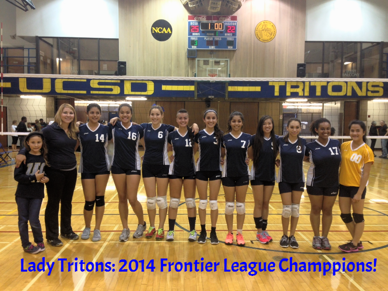 Triton Volleyball 2014 League Champions League Champion Volleyball