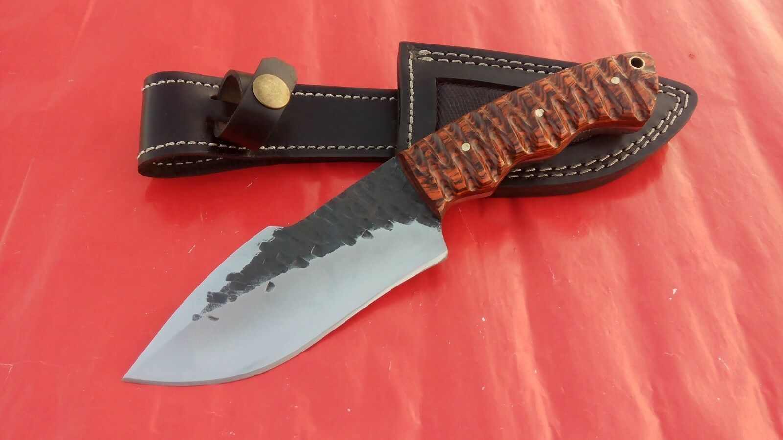 Custom Han Made 1095 Steel Hunting Knife Bowie Knife For Sale Hunting Knife 1095 Steel