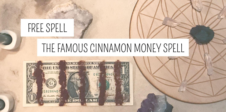 Free Famous Cinnamon Money Spell » Plentiful Earth #moneyspells