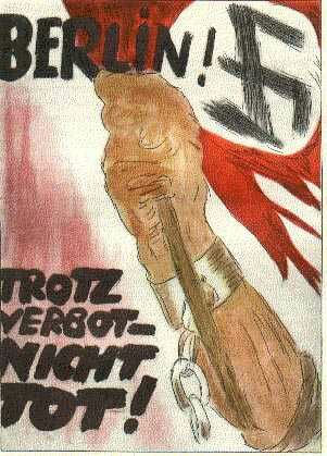 Despite the ban not dead ! ( Early Nazi poster~1928)