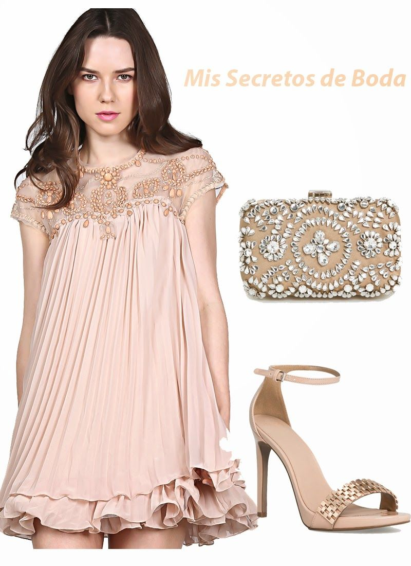 MIS SECRETOS DE BODA: Total Look Nude. | Looks Invitadas de Boda ...