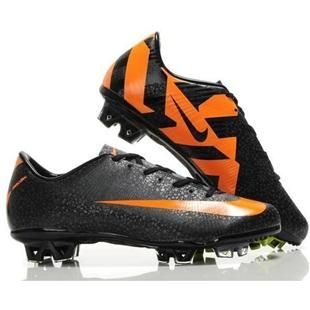 best loved 0c5fe f04cb New soccer shoes  Cheap Mens Nike Mercurial Vapor SuperFly III FG CR7  Safari Black orange SoccerFootball Cleatsout of stock