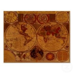 1780 old world map art print maps pinterest 1780 old world map art print gumiabroncs Gallery
