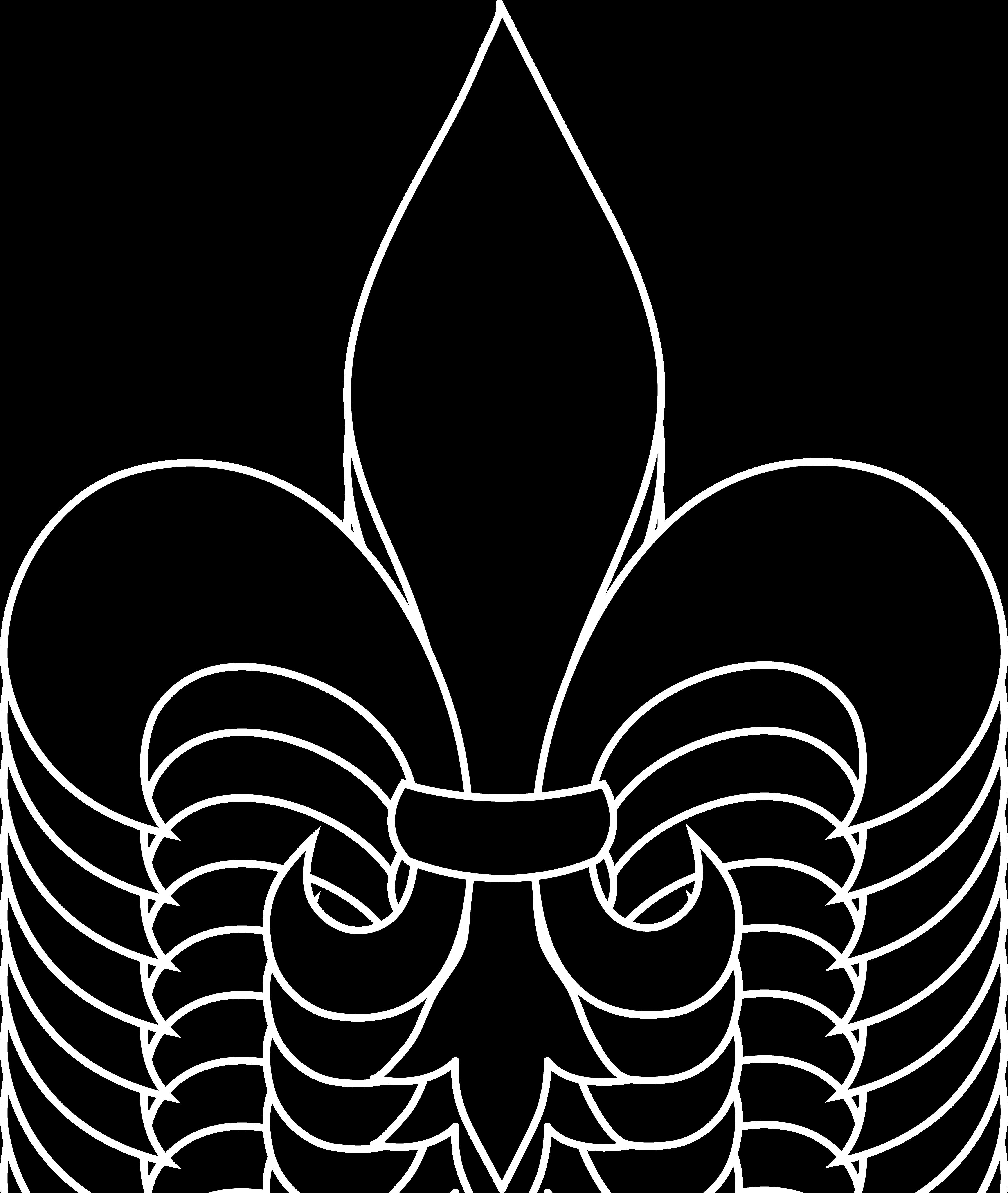 Frrench free clip art black fleur de lis silhouette for for Flur design