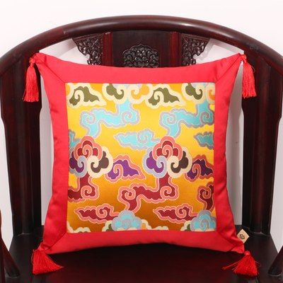 Photo of 25,0 USD | 2 dimensioni nuovo design colorato broccato portafortuna patten seggiolino auto divano divano da ufficio senza cuscino interno per casa e giardino su LAliExpress