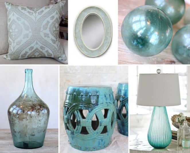 Light Blue Home Accessories Google Search