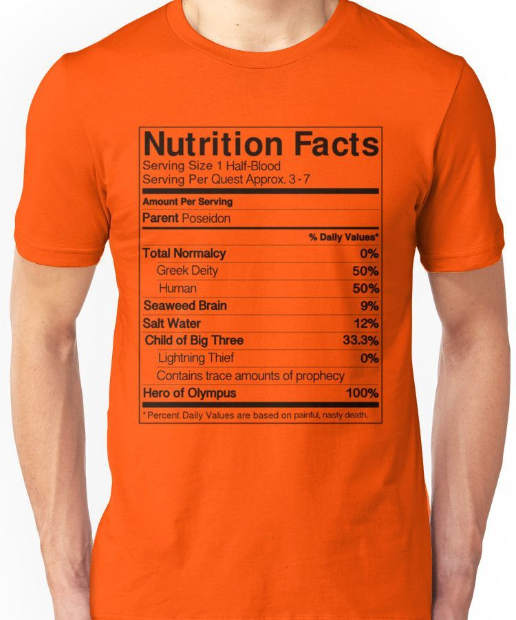 5899c64b Half-Blood Nutrition Guide (Percy) | Slim Fit T-Shirt | Products ...