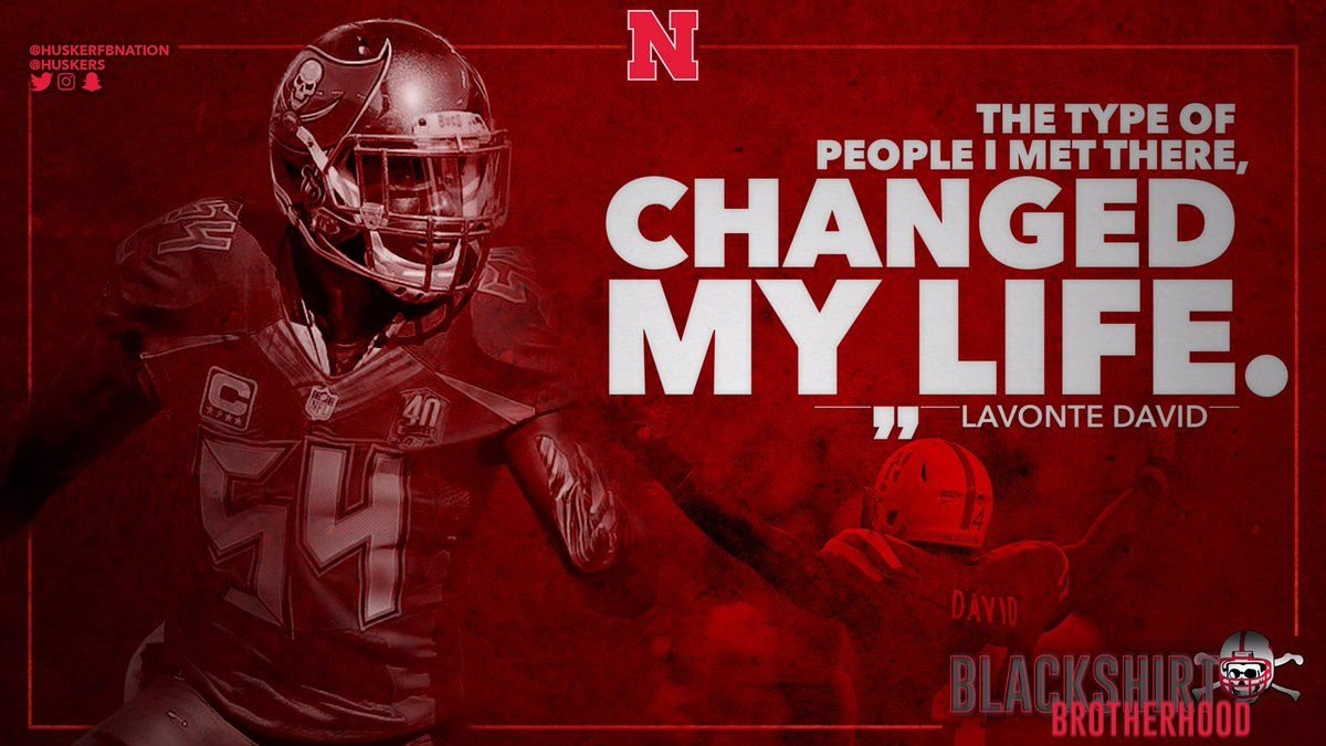 Nebraska college football recruiting sports graphics